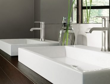 Genta One-Handle Bathroom Faucet by Moen