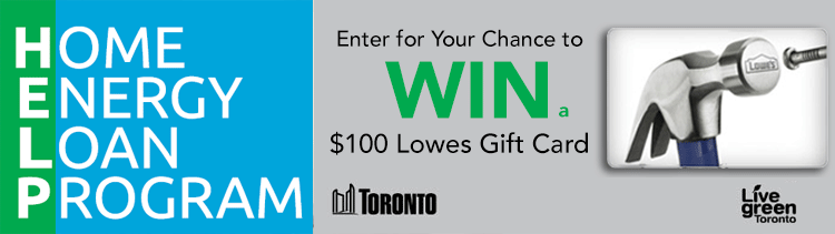 Home Energy Loan Program Giveaway