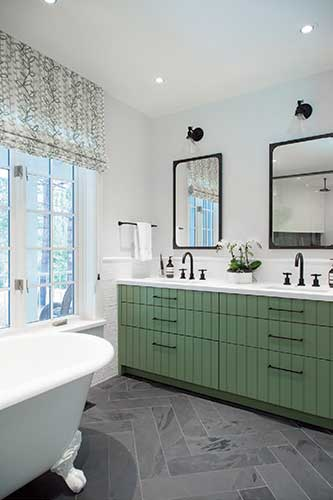 Country Style Bathroom Makeover