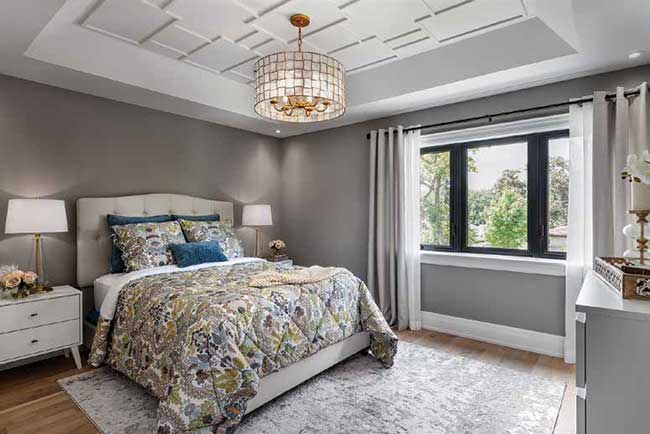 After photo of the master bedroom