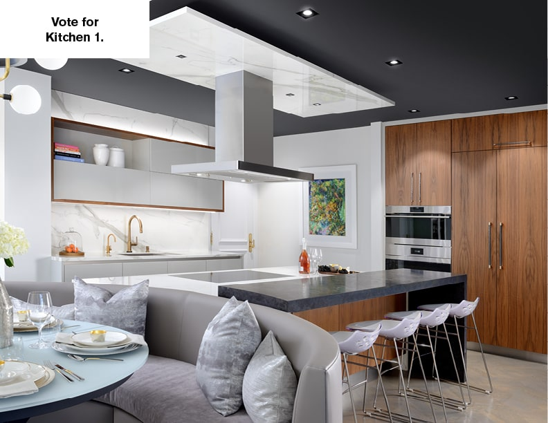 NKBA's 2020 People's Choice Award – Kitchen 1