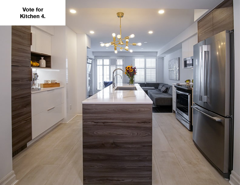 NKBA's 2020 People's Choice Award – Kitchen 4