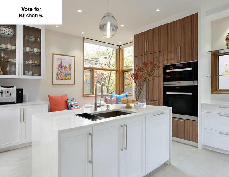 NKBA's 2020 People's Choice Award – Kitchen 6