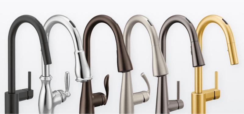 U by Moen Smart Faucet™ styles