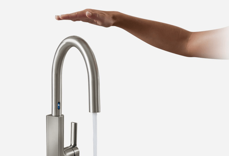 Touchless Kitchen Faucets with MotionSense