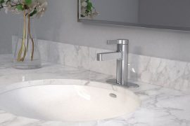 Vichy Chrome One-Handle Bathroom Faucet