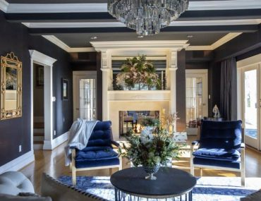 Home for the Holidays - Formal Living Room