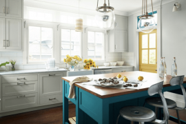 Refresh Your Kitchen Cabinets with Paint